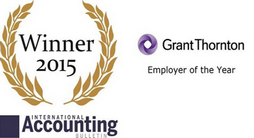Global Employer of the year Grant Thornton award